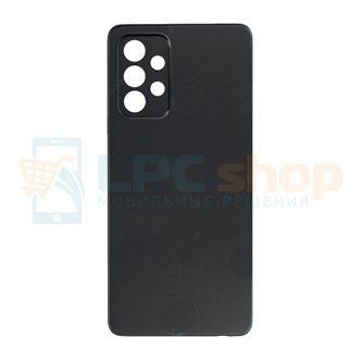 Крышка(задняя) для Samsung A52 A525F Черный (без линз для камеры)