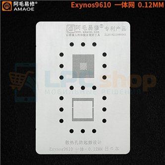 AMAOE BGA трафарет SAMSUNG Exynos 9610 CPU+RAM