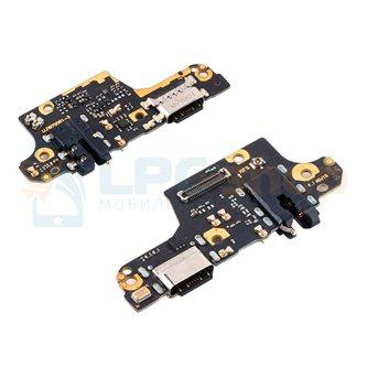 Шлейф для Xiaomi Poco X3 NFC / X3 PRO плата для зарядки с IC / разъем гарнитуры / микрофон - ОРИГИНАЛ
