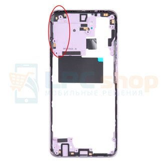 Средняя часть Xiaomi Redmi Note 10S M2101K7BNY Белый + кнопки громкости