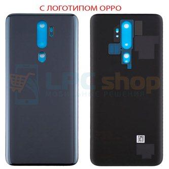Крышка(задняя) для Oppo A5 (2020) / A9 (2020) Черная